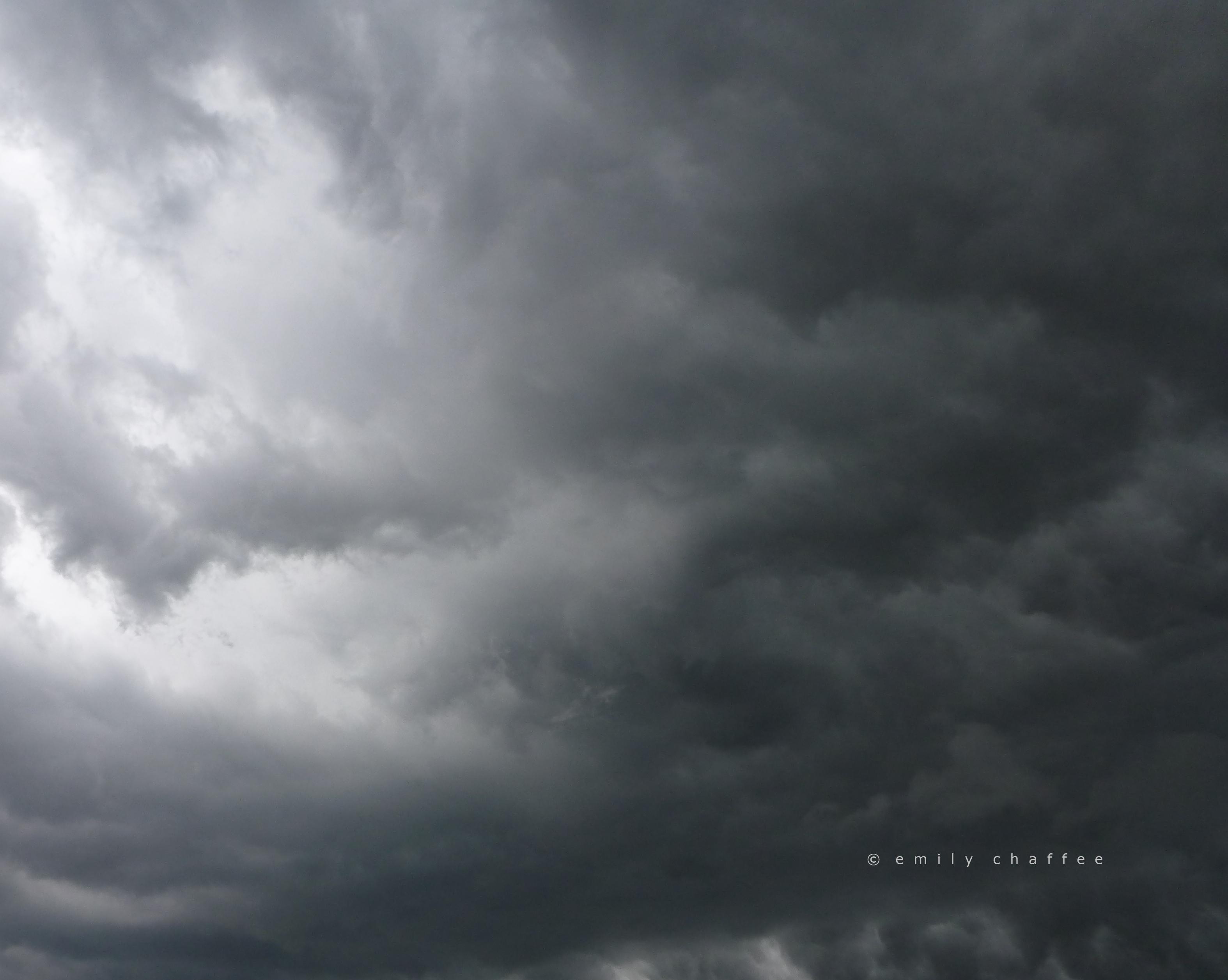 storm. cape cod.
